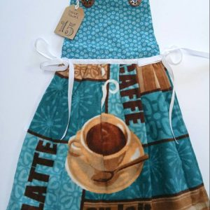 Dress Style Stove Towel - Coffee