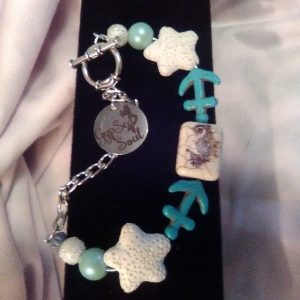 Anchors and Mermaid Bracelet/ Earrings Set