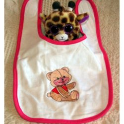 Baby Bib with Teddy